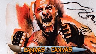Goldberg makes his return to the canvas: WWE Canvas 2 Canvas