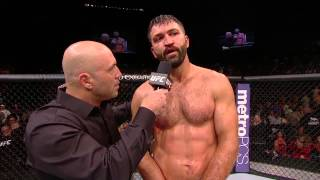 UFC 191: Andrei Arlovski Octagon Interview