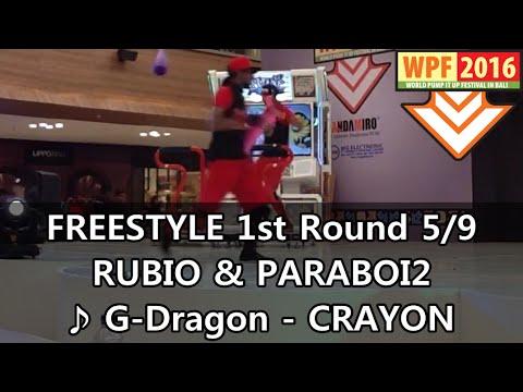 [WPF 2016] Freestyle, 1st Round 5/9: RUBIO & PARABOI2