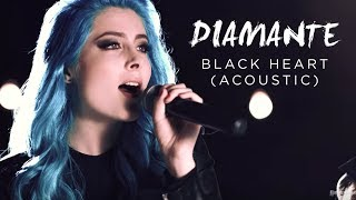 DIAMANTE - Black Heart - Acoustic (Official Music Video)