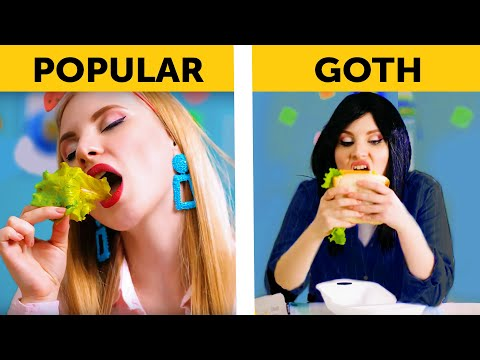 17 TYPES OF STUDENTS AT THE SCHOOL LUNCH Back to school by 5 Minute FUN