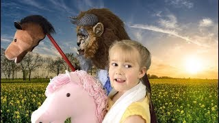 BEAUTY AND THE BEAST! AMAZING KIDS STORY! FAVORITE PRINCESS FAIRY TALE! SO FUNNY! BEST EVER!