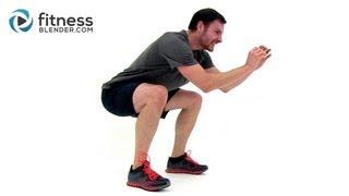 Brutal HIIT Ladder Workout - 20 Minute HIIT Workout at Home