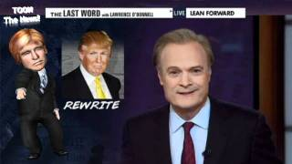 Donald Trump Reacts Badly To Epic Lawrence O'Donnell Rant!