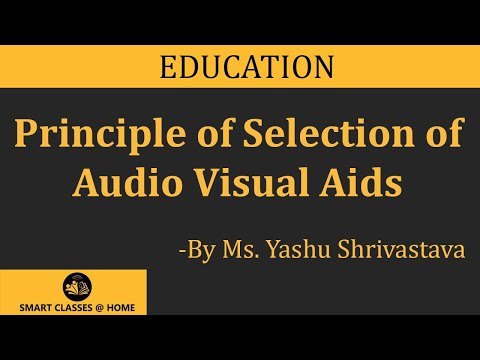 Audio Visual Aids Lecture, BEd  by Ms. Yashu Shrivastava