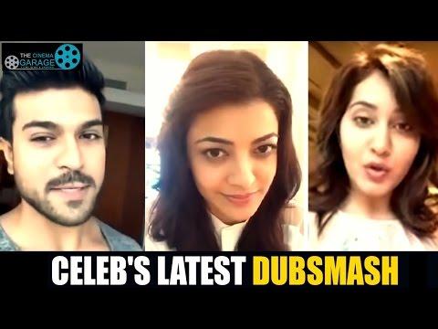 Funny Dubsmash by Tollywood Celebrities !!!! || Ram Charan, Kajal Aggarwal, Rakul Preet Singh