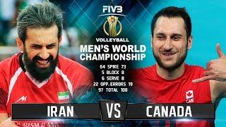 Iran vs. Canada | Highlights | Mens World Championship 2018