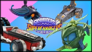 SKYLANDERS: SuperChargers Vehicles Unboxing
