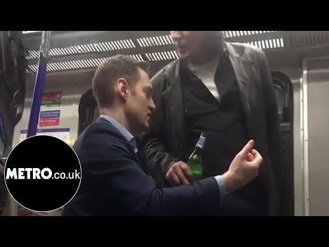 Xxx Mp4 British Man Goes On Racist Rant At Polish Man For Drinking On Train Metro Co Uk 3gp Sex
