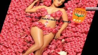 Meghna Patel nude for Narendra Modi - Video