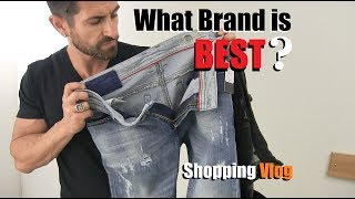 What Brand Of Jeans Is BEST? Denim VLOG (Diesel, AE,  Levis, 7 s ,Gap, J Brand) Style Safari