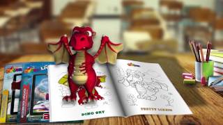 3D Coloring Book - Back to School with DEVAR Books