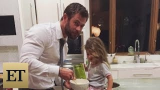 Chris Hemsworth Says His 3-Year-Old Daughter Asked Him for a Penis