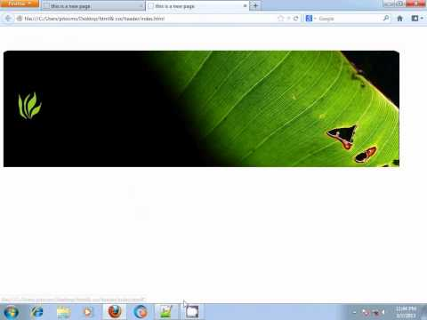 HTML & CSS BANGLA TUTORIAL PART-9(MAKE A SIMPLE HEADER)