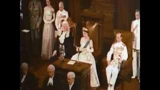 Queen Elizabeth II's Throne speech 1954
