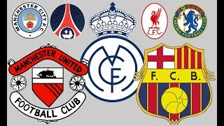 The History/Evolution Of Major Football Badges | Then And Now