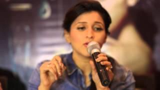 फिल्म जिद के लिए मनारा ने जयपुर में गाया गाना