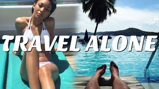 HOW TO TRAVEL ALONE | TIPS ON TRAVELING BY YOURSELF| Brittany Daniel