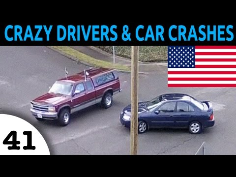 watch Crazy Drivers & Car Crash Compilation in USA Episode 41