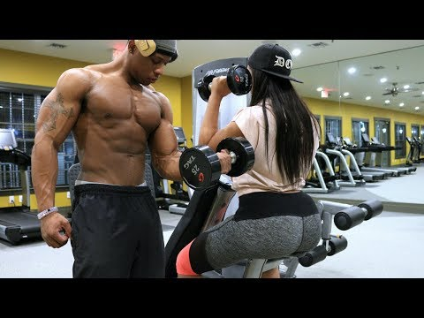 HOW REAL FITNESS COUPLES WORKOUT | RELATIONSHIP GOALS!