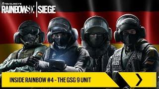 Tom Clancy's Rainbow Six Siege Official - Inside Rainbow #4 – The GSG 9 Unit [EUROPE]