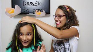 DESAFIO DO OVO! (ft. Juliana Baltar)