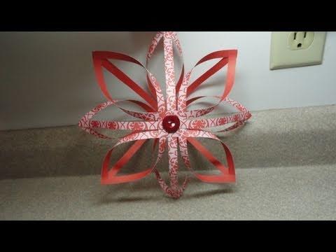 Finnish Star Decoration Ornament 3 D paper star