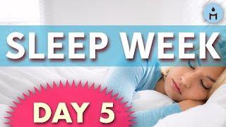 Sleep Week DAY 5: Friday | Relaxing Sleep Music, Deep Sleeping Music, Delta Waves