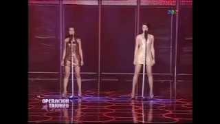 Operacion Triunfo - La Banda - Katrina y Carla