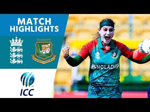 ICC #WT20 England Women vs Bangladesh Women Match Highlights