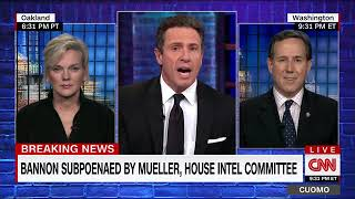 """NEWS UPDATE  Schiff: WH placed """"gag order"""" on Bannon"""