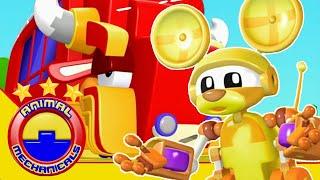Animal Mechanicals Full Episodes   Episode 305: Mechana Buffalo Bus   Cartoon For Kids HD