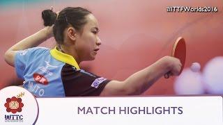 2016 World Championships Highlights: Ding Ning vs Mima Ito