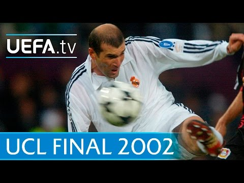 Real Madrid v Leverkusen 2002 UEFA Champions League final highlights