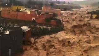 Inondations Désastreuses Au Maroc 2014 الفيضانات الكارثية في المغرب