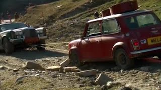 A Mini winches a Rolls - Top Gear Christmas Special 2011 - BBC