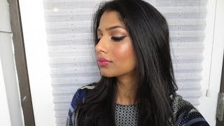 Super Easy Dewy/Glowy makeup for Brown/Indian/Olive skin!!
