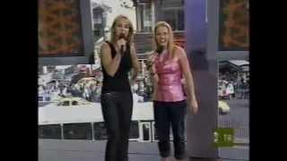 RARE:  TRL   Britney & Melissa Joan Hart Hosting Part 2 1999