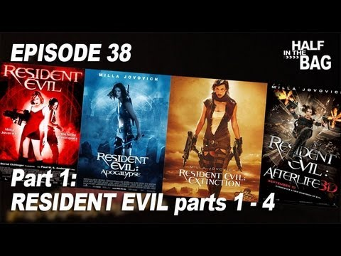 Half in the Bag Episode 38 Resident Evil series Part 1