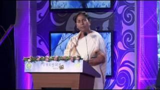Hon'ble CM at Mahanayak Samman 2016