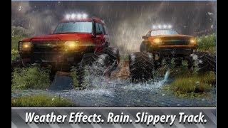 Monster Truck Offroad Rally 2 / 4x4 3D Drive Truck Games / Android Gameplay Video
