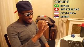 World Cup 2018 Group E Analysis     Brazil, Switzerland, Costa Rica, Serbia