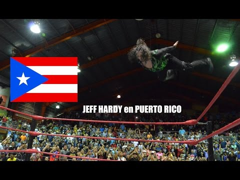 HIGHLIGHTS: Jeff Hardy vs Carlito ANIVERSARIO 43 WWC UNIVERSAL CHAMPION