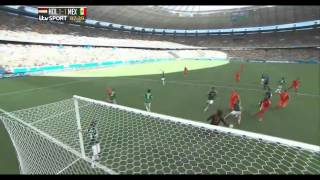 Worldcup 2014 - Netherlands Vs Mexico 2-1- All goals and Highlights -[HD]