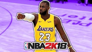 LeBron James Joins LAKERS NBA 2K18 Roster Update Analysis!