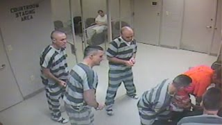 Texas Inmates Break Out Of Cell To Save Guard (Video)