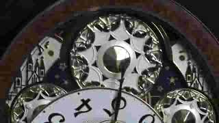 Gala II 4MH856WD23 Rhythm Clock Video springfieldclock net