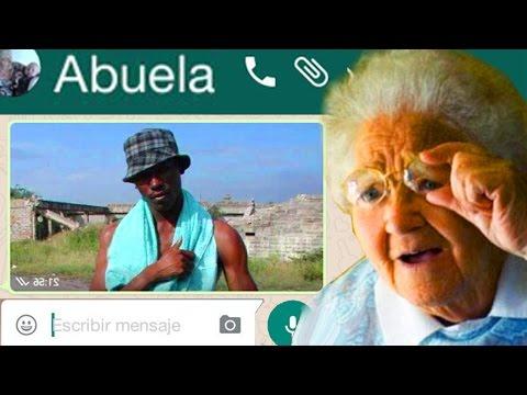 Los WhatsApp de mi Abuela... 😂
