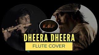 Dheera Dheera   KGF Movie   YASH   Flute Cover by Sriharsha Ramkumar