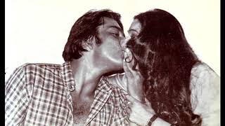 Sanjay Dutt Kisses Tina Munim - Rare Bollywood Smooch - STARBUZZ